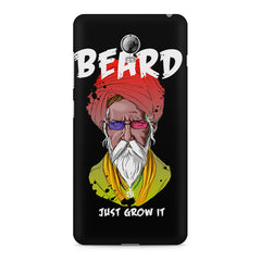 Beard Just Grow It design, Lenovo Vibe P1 printed back cover
