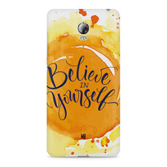 Believe in Yourself Lenovo Vibe P1 hard plastic printed back cover