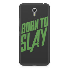 Born to Slay Design Lenovo Zuk Z1 hard plastic printed back cover