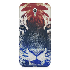 Pixel Tiger Design Lenovo Zuk Z1 hard plastic printed back cover