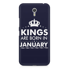 Kings are born in January design    Lenovo Zuk Z1 hard plastic printed back cover