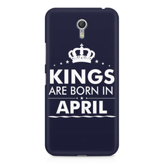 Kings are born in April design    Lenovo Zuk Z1 hard plastic printed back cover