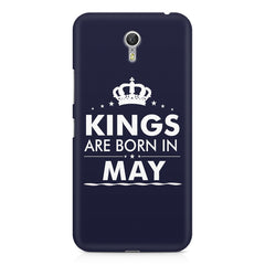 Kings are born in May design    Lenovo Zuk Z1 hard plastic printed back cover