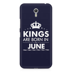 Kings are born in June design    Lenovo Zuk Z1 hard plastic printed back cover