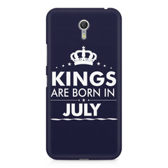 Kings are born in July design    Lenovo Zuk Z1 hard plastic printed back cover