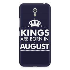 Kings are born in August design    Lenovo Zuk Z1 hard plastic printed back cover