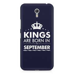 Kings are born in September design    Lenovo Zuk Z1 hard plastic printed back cover