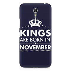Kings are born in November design    Lenovo Zuk Z1 hard plastic printed back cover