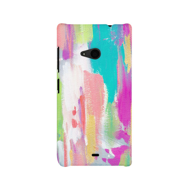 Abstract Painting Nokia Lumia 535 printed back cover