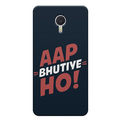 Aap Bhutiye Ho Design Meizu M3 note hard plastic printed back cover