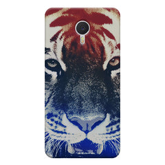Pixel Tiger Design Meizu M3 note hard plastic printed back cover