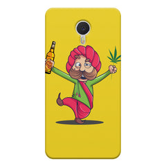 Sardar dancing with Beer and Marijuana  Meizu M3 note hard plastic printed back cover