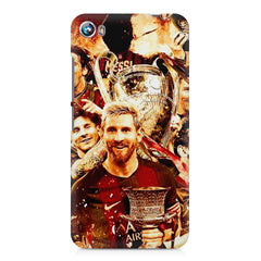 Messi  design,  Micromax Canvas Fire 4 A107 printed back cover