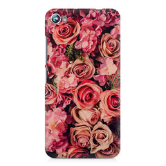 Roses  design,  Micromax Canvas Fire 4 A107 printed back cover