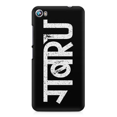 Gabru hindi quirky  design,  Micromax Canvas Fire 4 A107 printed back cover