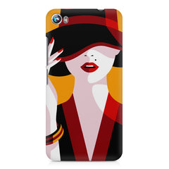 Classy girl  design,  Micromax Canvas Fire 4 A107 printed back cover
