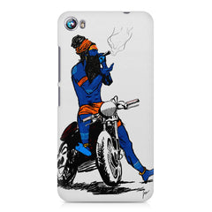 Puff pass  Micromax Canvas Fire 4 A107 printed back cover