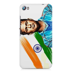 Sachin Tendulkar blue  Micromax Canvas Fire 4 A107 printed back cover