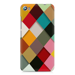 Graphic Design diamonds   Micromax Canvas Fire 4 A107 printed back cover
