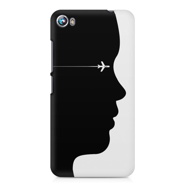 A vision to fly Micromax Canvas Fire 4 A107 printed back cover