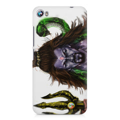 Shiva With Trishul  Micromax Canvas Fire 4 A107 printed back cover