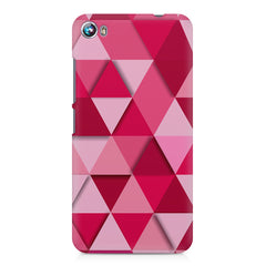 Girly colourful pattern Micromax Canvas Fire 4 A107 printed back cover