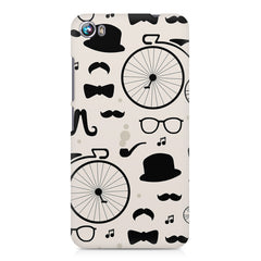 Retro theme for classic men Micromax Canvas Fire 4 A107 printed back cover