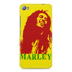 Red Bob Marley being high Micromax Canvas Fire 4 A107 printed back cover