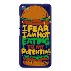 Hungry funny design Micromax Canvas Fire 4 A107 printed back cover