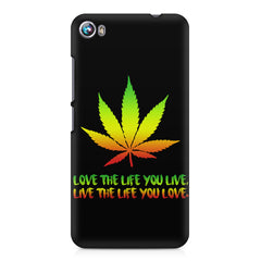 Love the Life you live and live the life you love Micromax Canvas Fire 4 A107 printed back cover