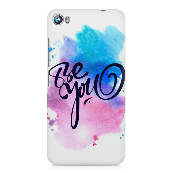 Be yourself design Micromax Canvas Fire 4 A107 printed back cover