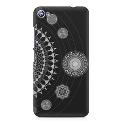 Ethnic design pattern Micromax Canvas Fire 4 A107 printed back cover