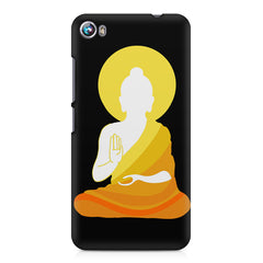 Buddha sketch design Micromax Canvas Fire 4 A107 printed back cover