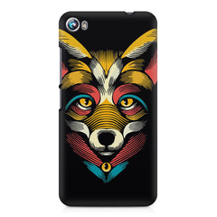 Fox sketch design Micromax Canvas Fire 4 A107 printed back cover