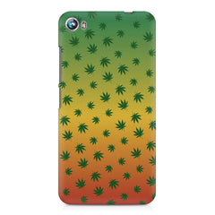 Marihuana pattern design Micromax Canvas Fire 4 A107 printed back cover