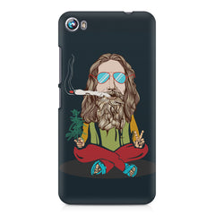 Smoking high design Micromax Canvas Fire 4 A107 printed back cover