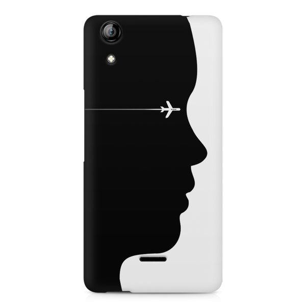 A vision to fly Micromax Canvas Selfie 2 Q340 printed back cover