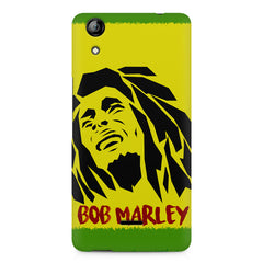 Black bob marley  Micromax Canvas Selfie 2 Q340 printed back cover