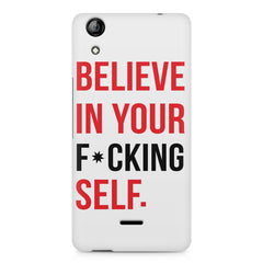 Believe in your Self Micromax Canvas Selfie 2 Q340 printed back cover