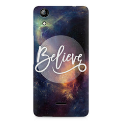 Believe in yourself Micromax Canvas Selfie 2 Q340 printed back cover