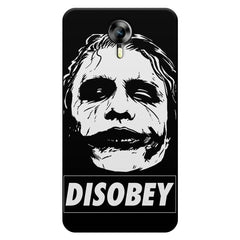 Joker disobey design    Micromax Canvas Xpress 2 hard plastic printed back cover