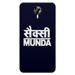 Sexy Munda quote design    Micromax Canvas Xpress 2 hard plastic printed back cover