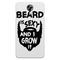 Beard is sexy & I grow it quote design    Micromax Canvas Xpress 2 hard plastic printed back cover