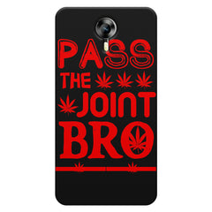 Pass the joint bro quote design    Micromax Canvas Xpress 2 hard plastic printed back cover