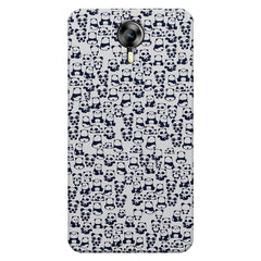 Cute Pandas all over the cover design    Micromax Canvas Xpress 2 hard plastic printed back cover