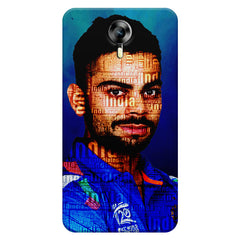 Virat Kohli India inscribed design    Micromax Canvas Xpress 2 hard plastic printed back cover