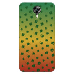 Multicolour leaf overall design Micromax Canvas Xpress 2 hard plastic printed back cover