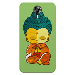 Miniature Buddha Caricature Micromax Canvas Xpress 2 hard plastic printed back cover