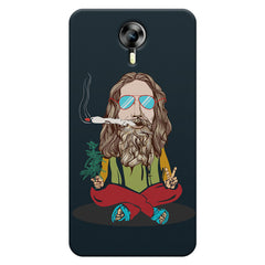 Baba Smoking Cigar design Micromax Canvas Xpress 2 hard plastic printed back cover