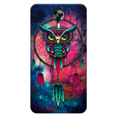 Good luck Owl sketch design    Micromax Canvas Xpress 2 hard plastic printed back cover